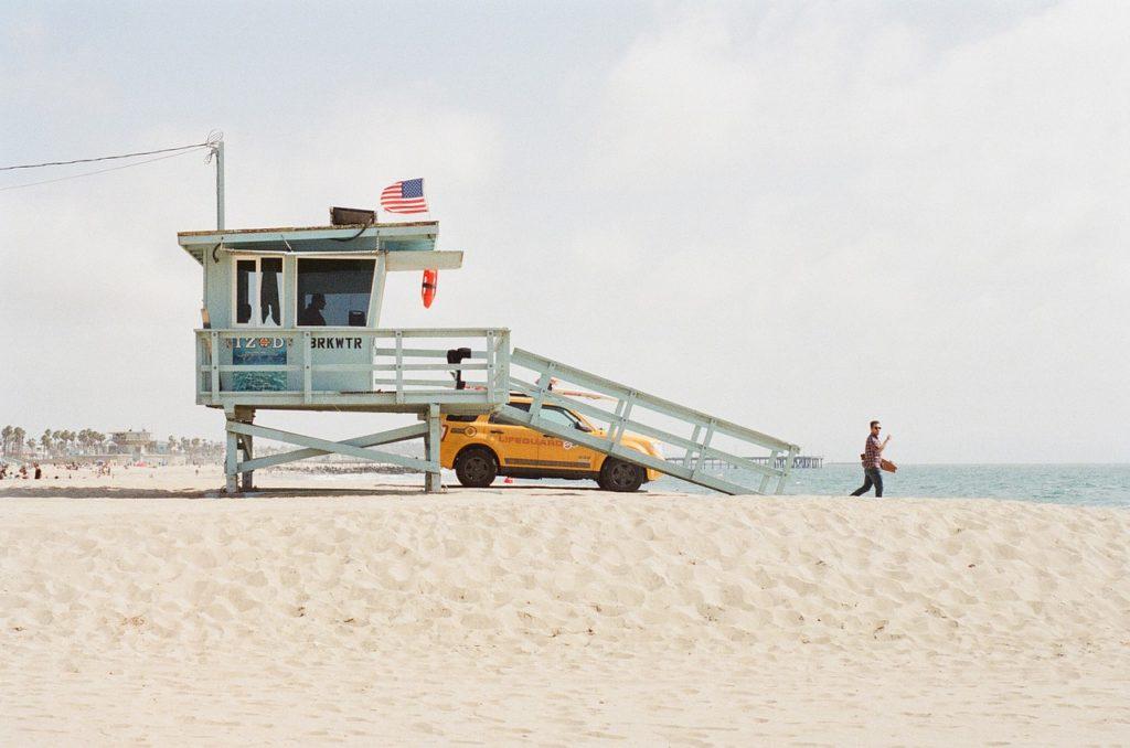 poklidné pláže v miami
