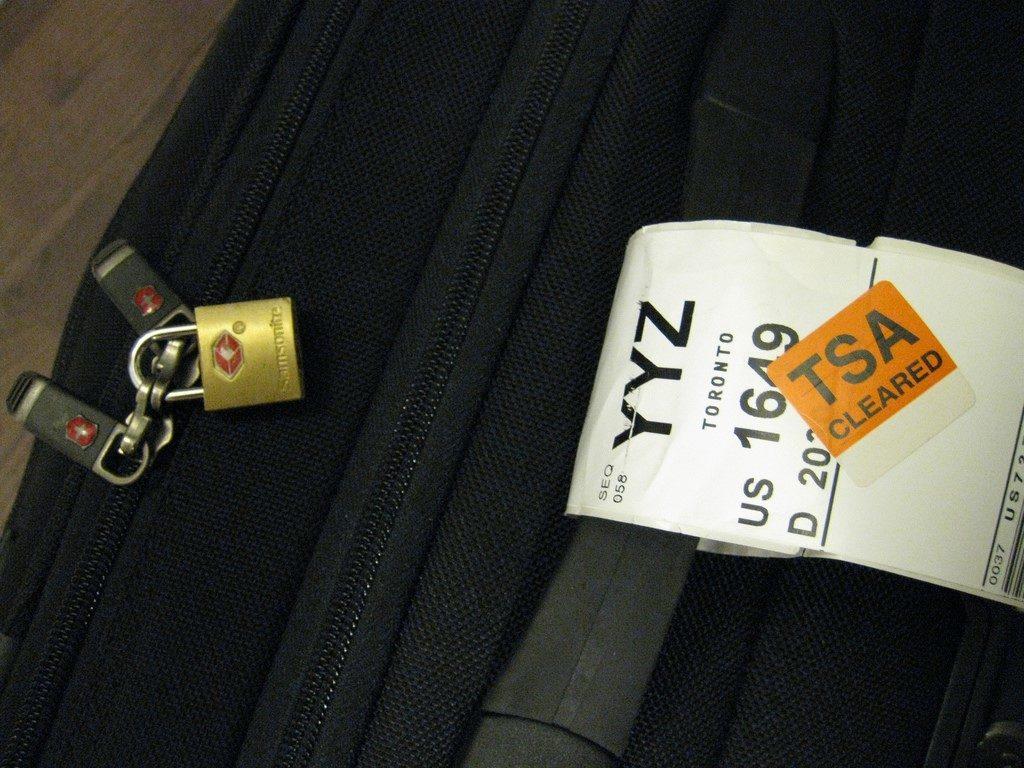 letištní zavazadlo