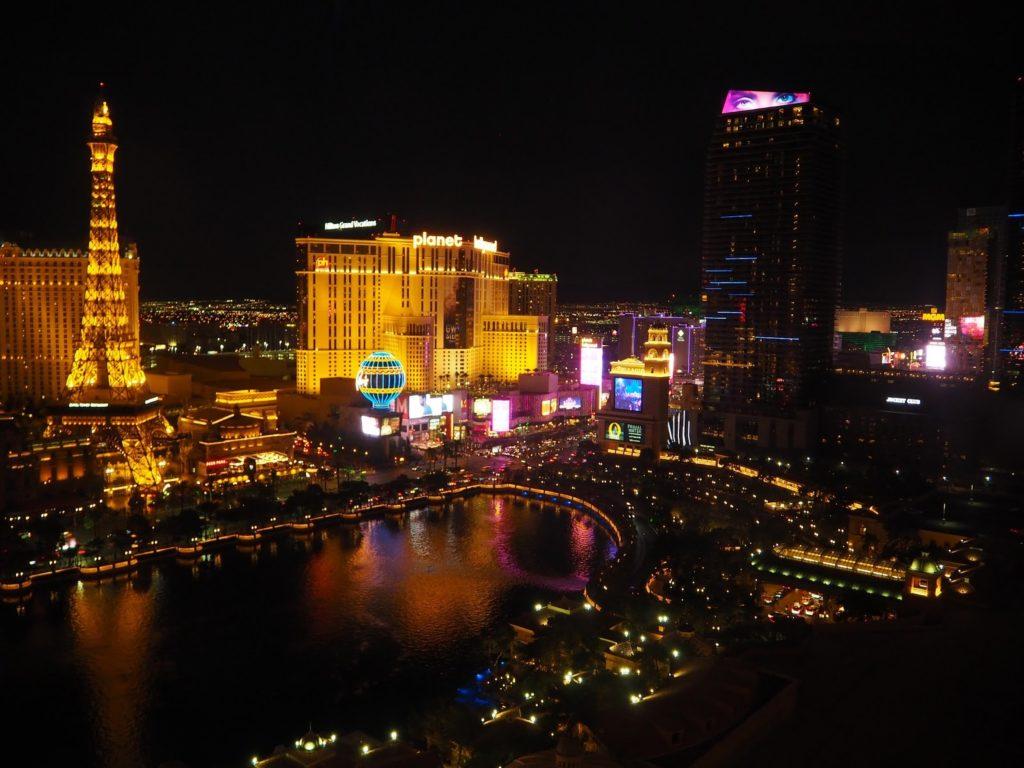 Las Vegas po setmění