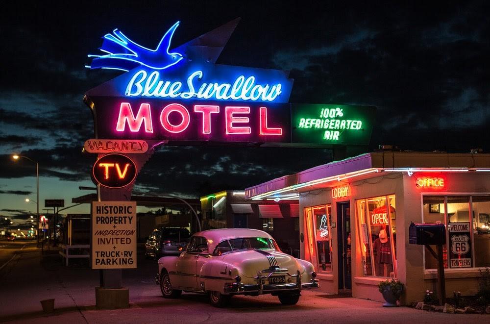 motely mohou být levným řešením při cestování po USA
