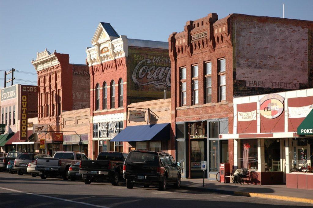 Livingston v Montaně, USA