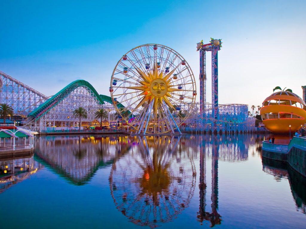 americké zábavní parky nejsou jen pro děti