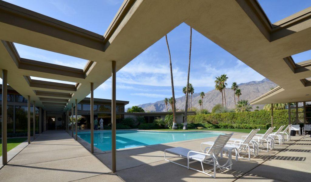 architektura v Palm Springs, Kalifornie