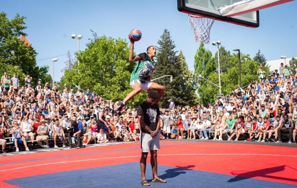 největší turnaj v basketbalu Hoopfest