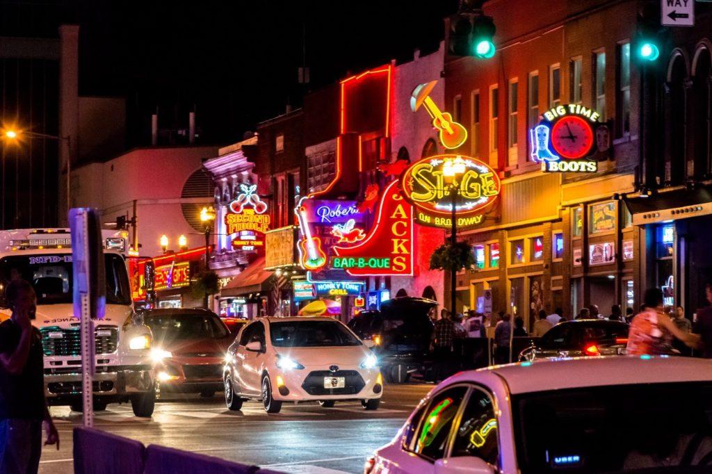 Nashville, město ve státě Tennessee