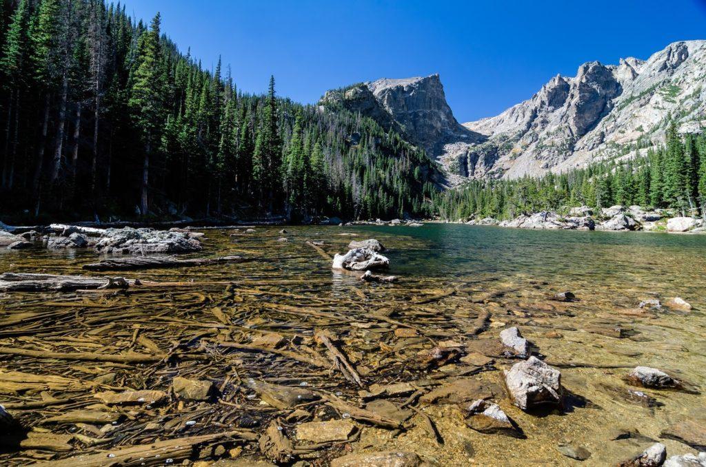 národní park Rocky Mountain v Coloradu