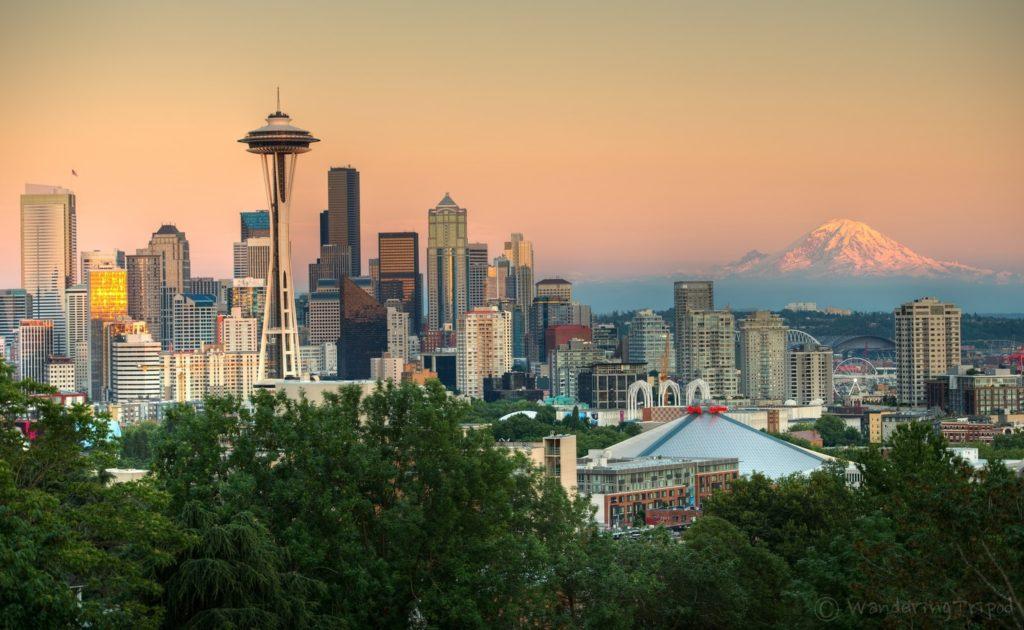 město Seattle ve státě Washington