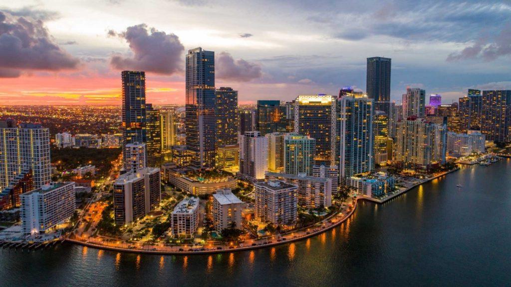 Miami ve státě Florida