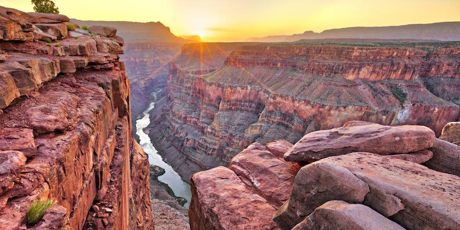 Grand kaňon v americkém Coloradu