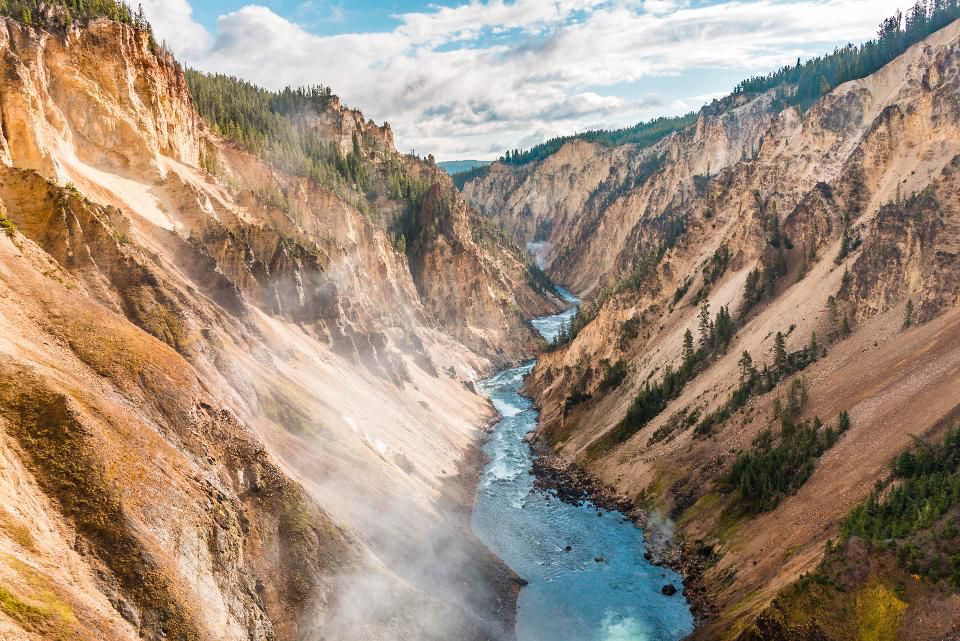 národní park Yellowstone
