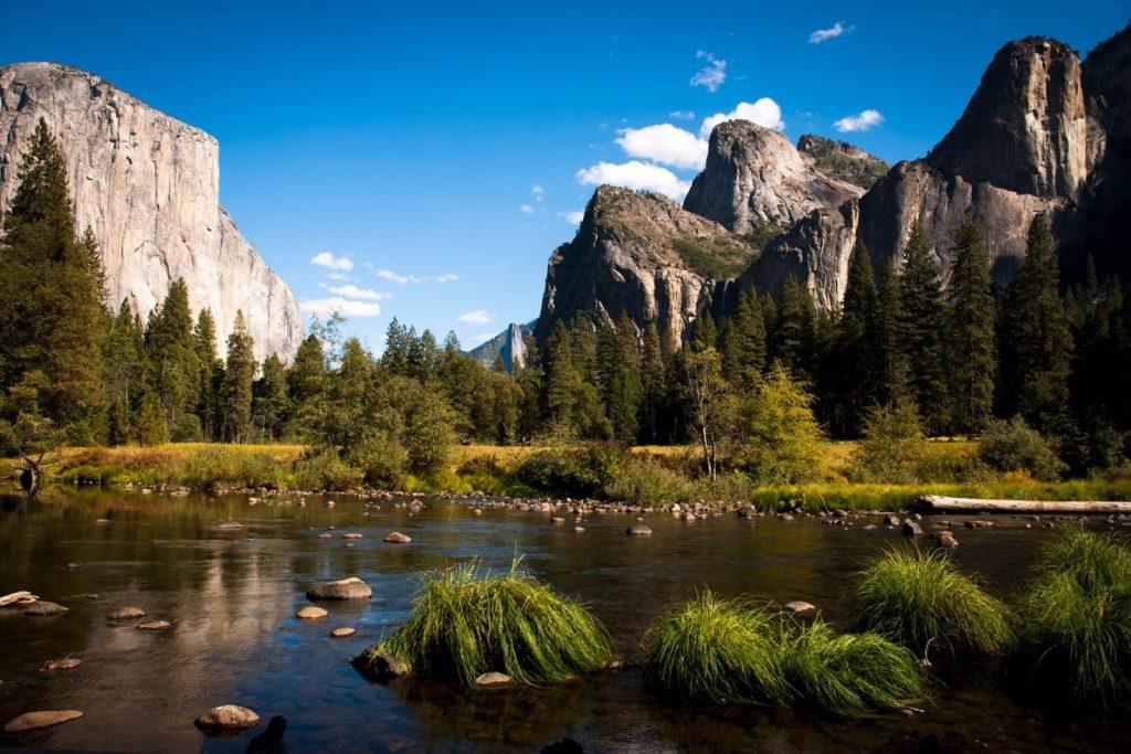 národní park Yosemity
