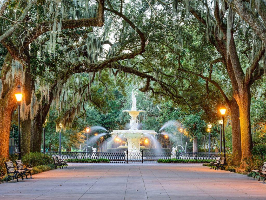 město Savannah