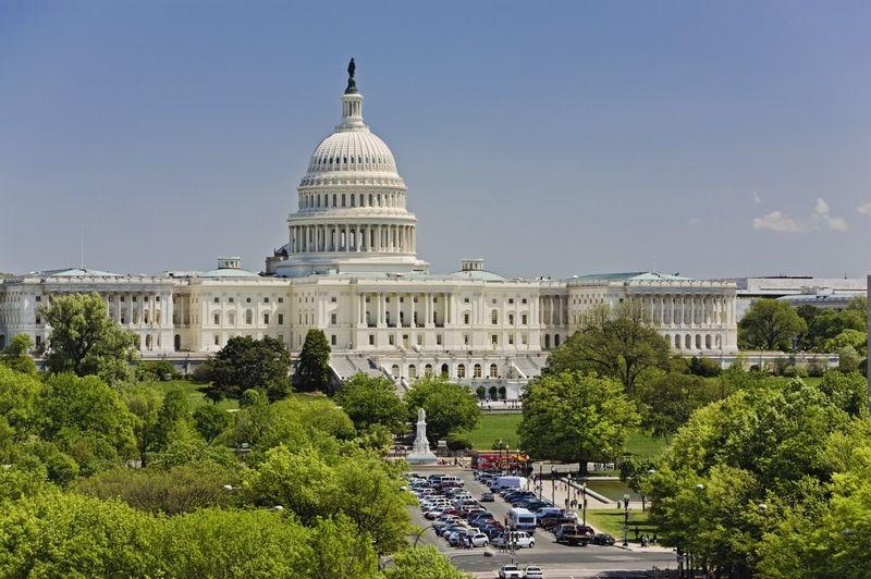 hlavní město USA Washington D.C.