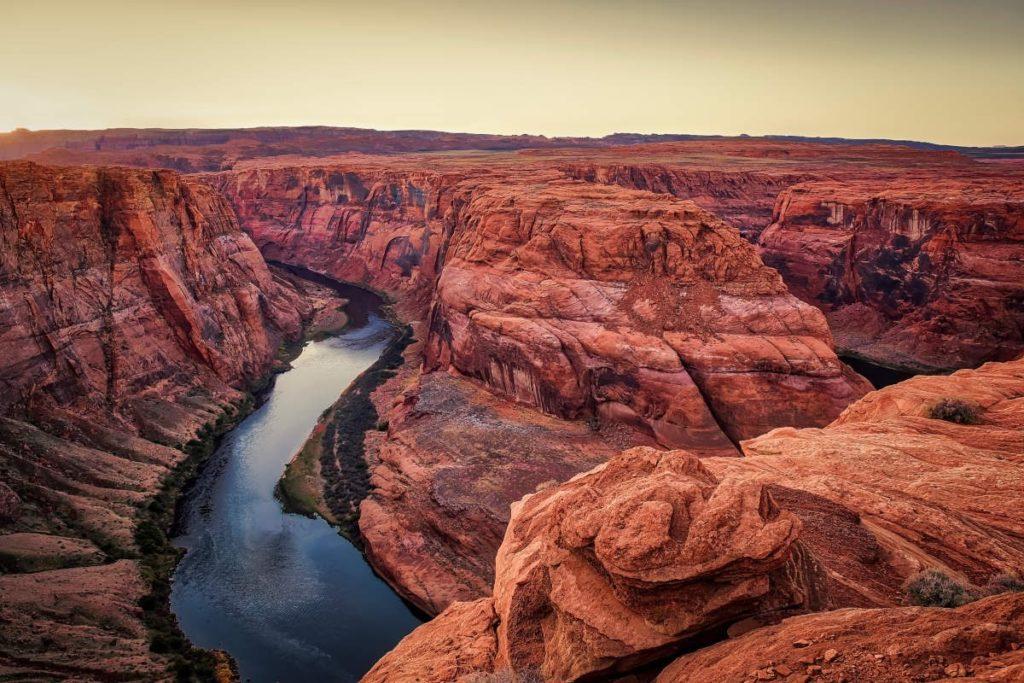 obrázek Grand Canyonu v Severní Americe