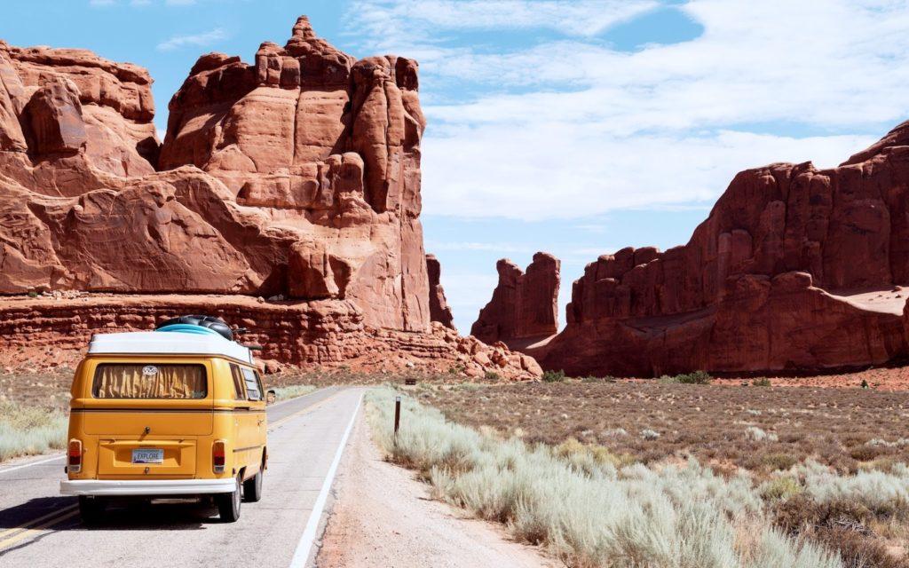 k cestování po Americe se vám hodí auto