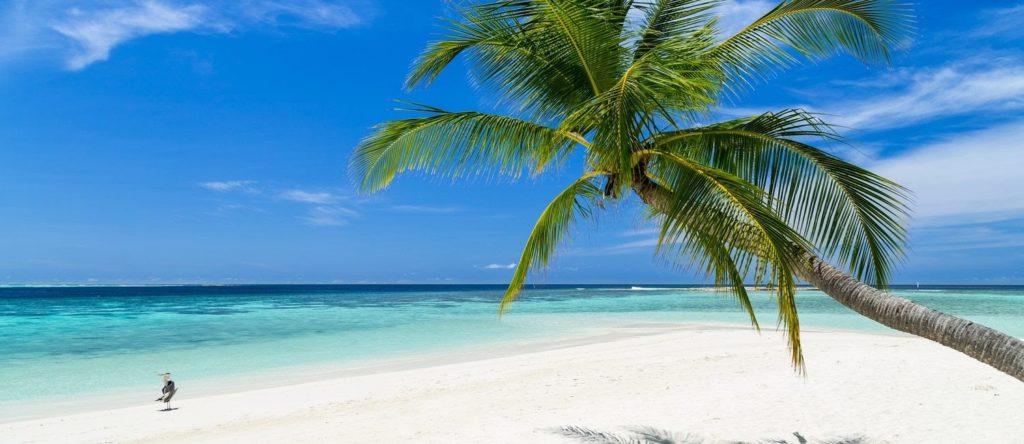 Key West na Floridě, slunce a pláž