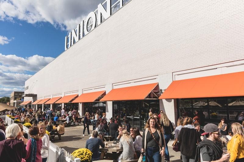 Union Market v hlavním městě USA