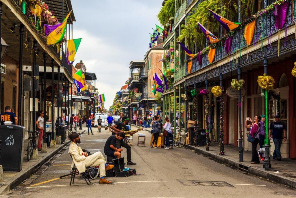 ulice v New Orleans