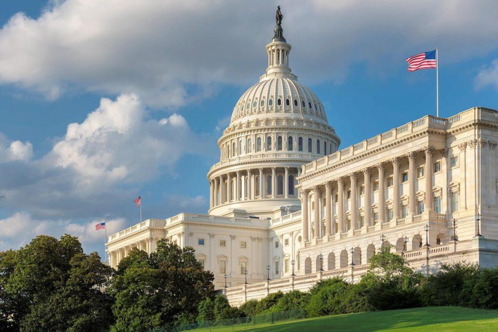 hlavní město USA? Washington D.C. a budova Kapitolu