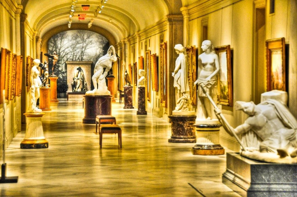 Národní umělecká galerie, Washington D.C, USA