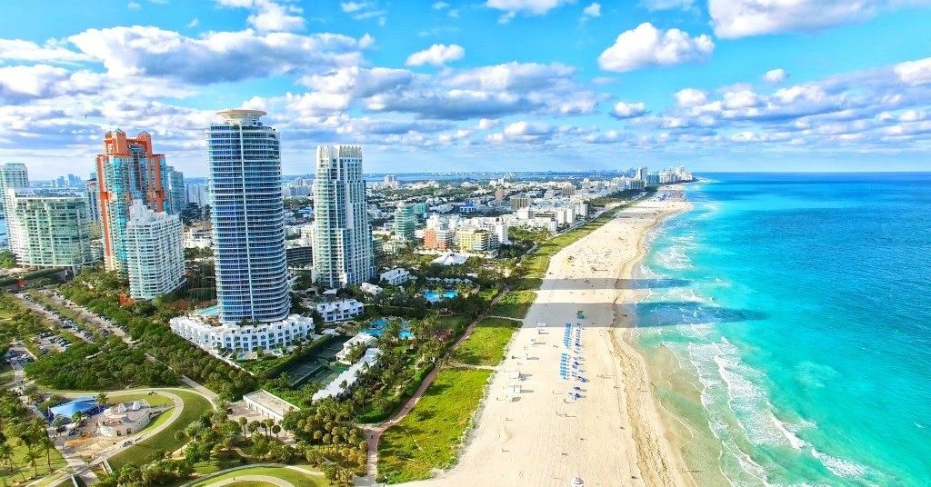Miami a proslavené pláže