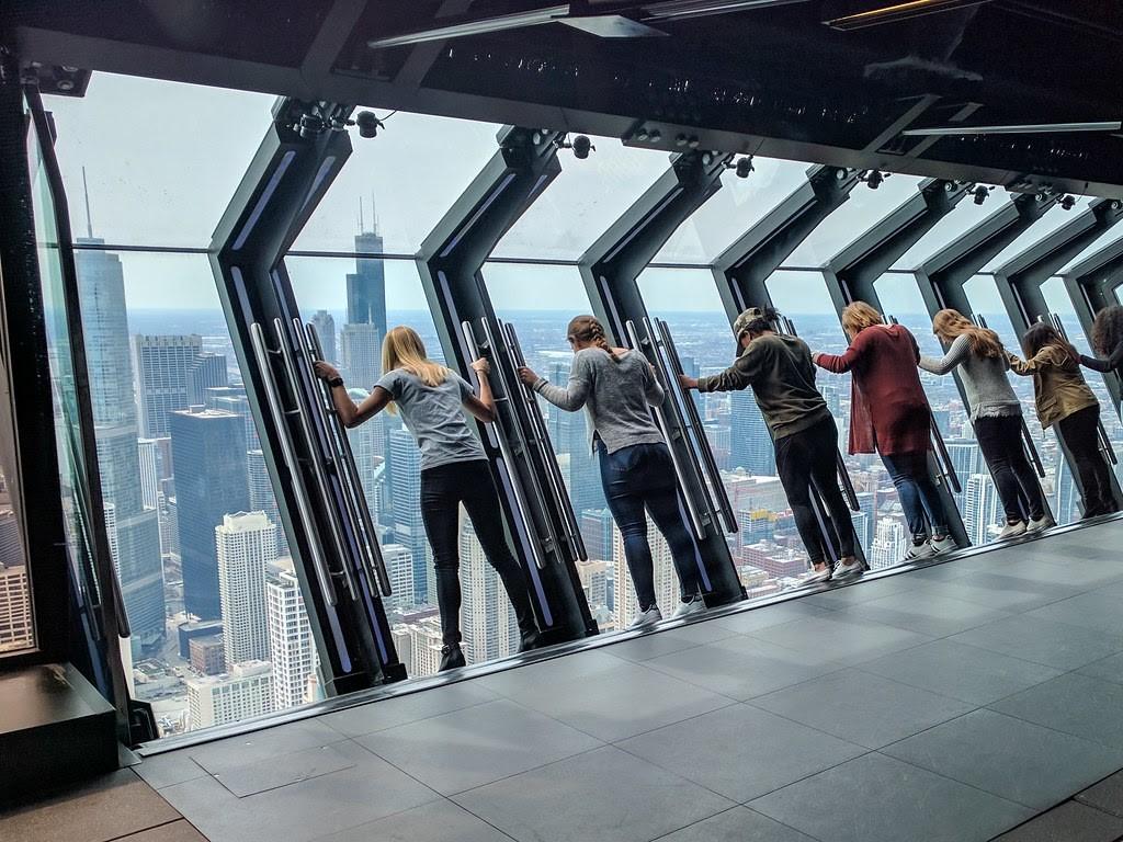 panoramatický výhled na město