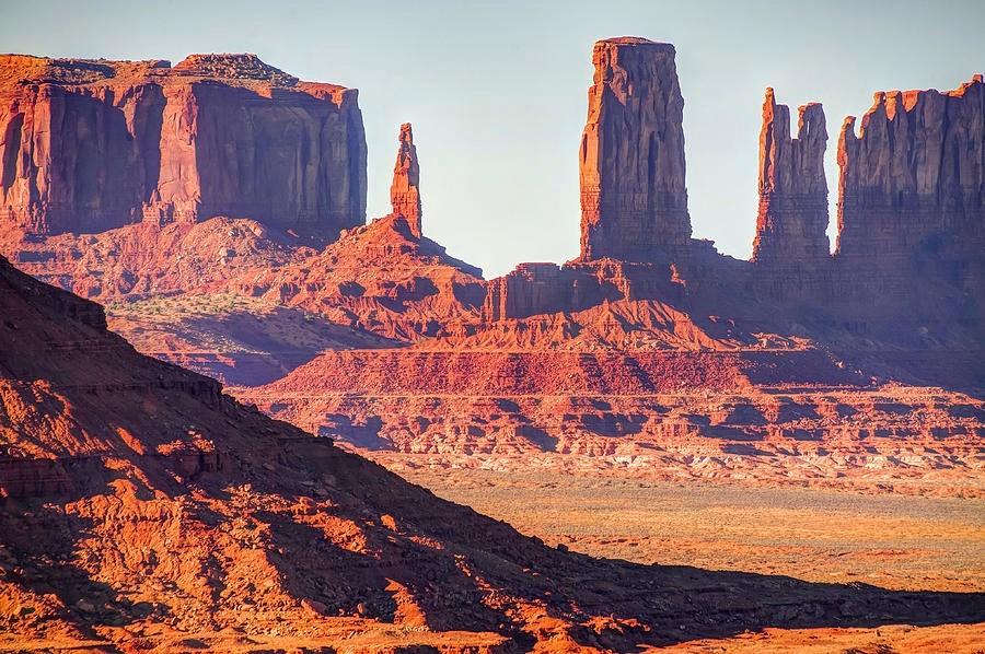 Monument valley v Severní Americe