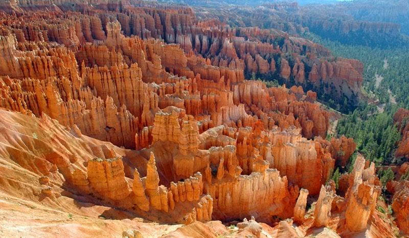 Národní park Bryce kaňon ve státě Utah