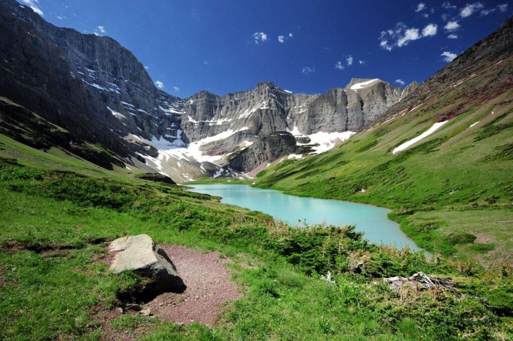 divoká příroda Montany