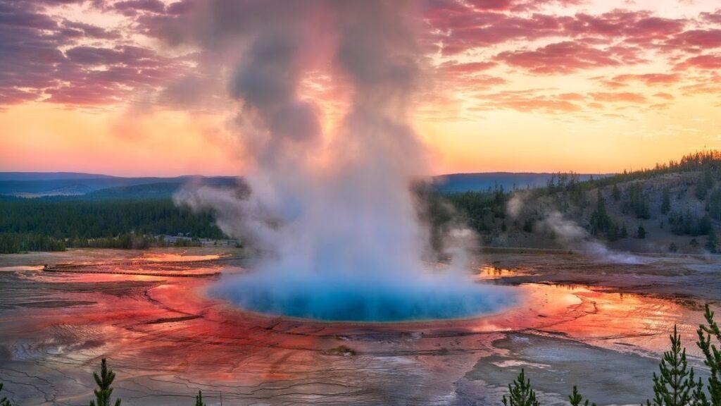 proslulý Yellowstonský národní park