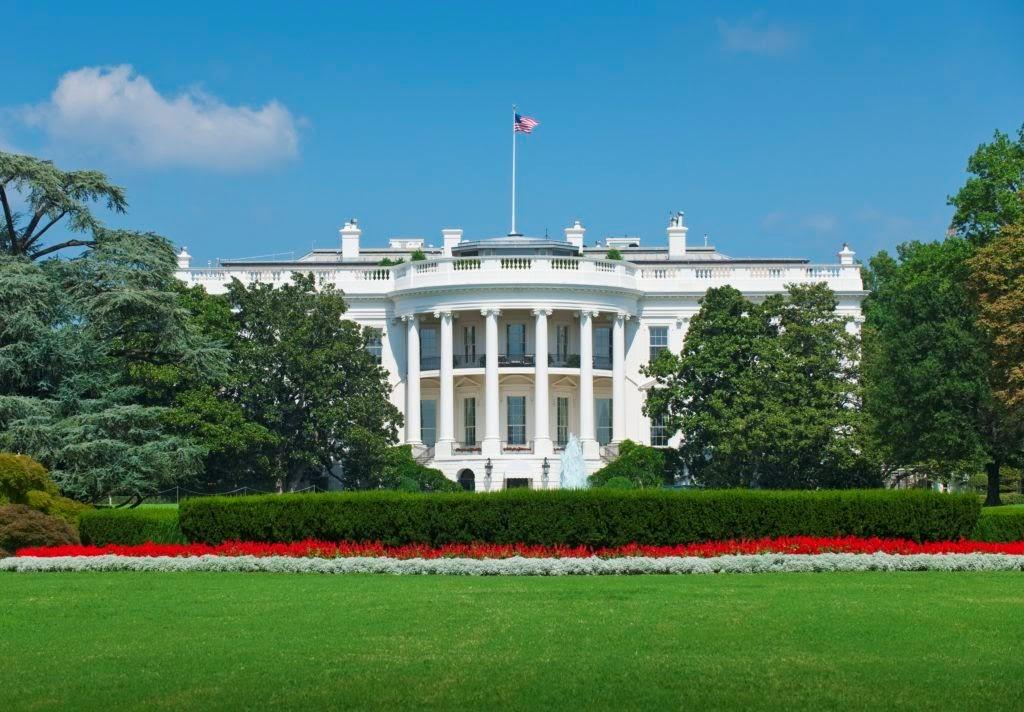 Bíllý dům ve Washingtonu