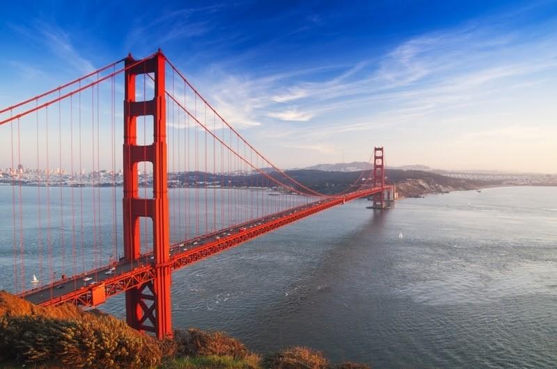 Zlatá brána do San Franmcisca
