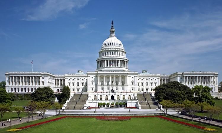 americký Kapitol ve Washingtonu