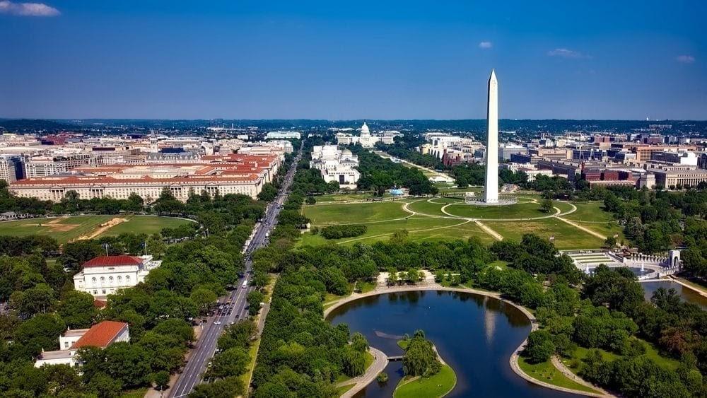 Park v hlavním městě Washingtonu, D.C.