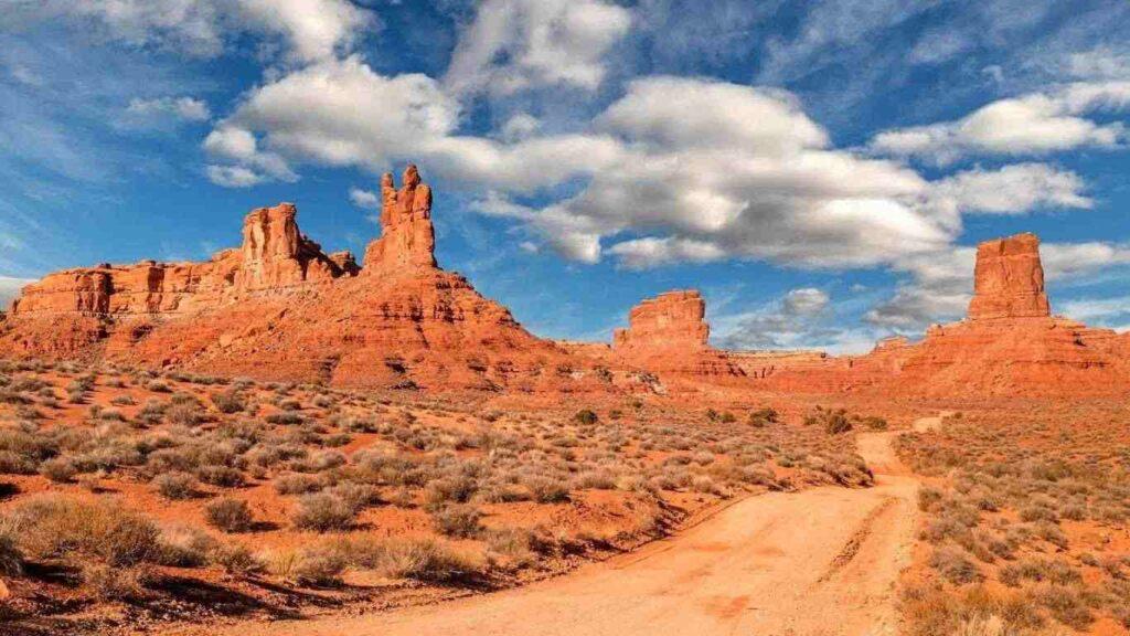 poušť v Jižním Utahu