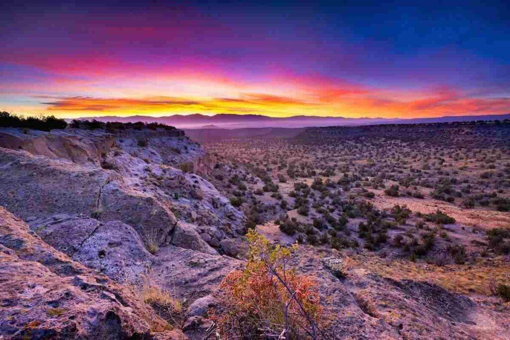 mystická poušť v Novém Mexiku