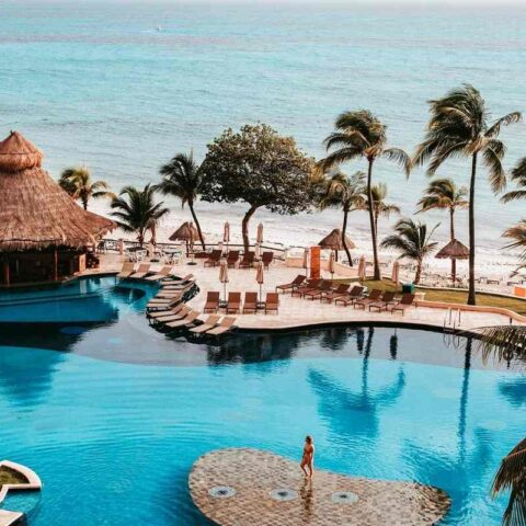 resort v Mexiku, kde platí nová daň Visitax