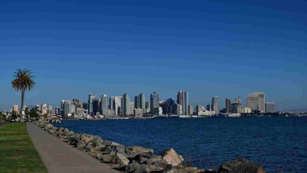 město San Diego, které je jedním ze symbolů Kalifornie