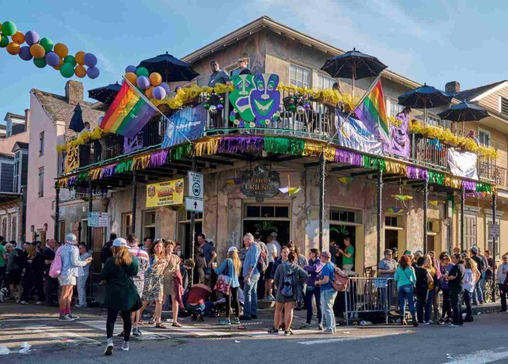 New Orleans je symbolem uvolněného stylu, jak je patrné z obrázku
