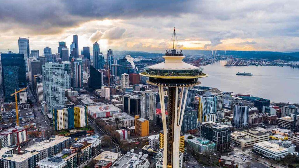 vesmírná jehla Seattlu - The Space Needle
